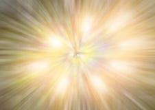 Círculo del fondo de las luces Foto de archivo