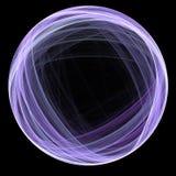 Círculo del fractal Imágenes de archivo libres de regalías