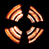 Círculo del fuego Imágenes de archivo libres de regalías