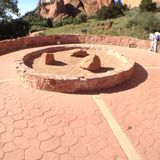 Círculo del jardín Foto de archivo