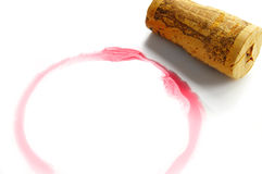 Círculo del vino Imagenes de archivo