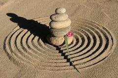 Círculo del zen Imágenes de archivo libres de regalías