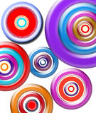 Círculo dentro do círculo Imagem de Stock