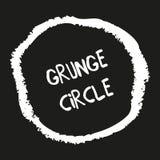 Círculo dibujado mano del creyón del grunge libre illustration