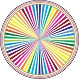 Círculo do arco-íris ilustração do vetor