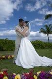 Círculo do beijo das flores fotografia de stock royalty free