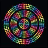 Círculo do divertimento do arco-íris ilustração do vetor