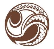 Círculo do projeto de Samoa Imagens de Stock