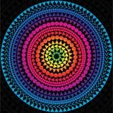 Círculo do vetor do arco-íris ilustração stock