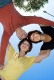 Círculo dos amigos Foto de Stock