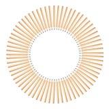 Círculo dos lápis Fotografia de Stock Royalty Free