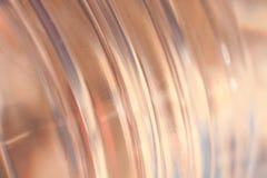 Círculo dourado Fotos de Stock