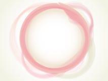 Círculo en colores pastel abstracto Foto de archivo