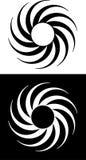 Círculo espiral Fotografía de archivo libre de regalías