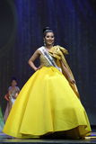 Círculo final da senhorita Supranational Thailand 2017 na fase grande a Imagens de Stock Royalty Free