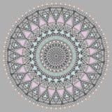 Círculo geométrico z4 del inconformista Fotografía de archivo