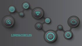Círculo infographic libre illustration