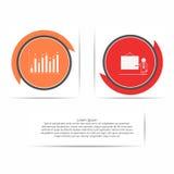 Círculo infographic Plantilla con los iconos de la presentación y del diagrama libre illustration