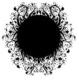 Círculo mágico da ilustração de alta qualidade para as tampas, fundos, papéis de parede ilustração royalty free