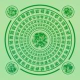 Círculo mágico da runa Fotografia de Stock Royalty Free