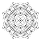 Círculo Mandala Design del vector libre illustration