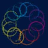 Círculo no círculo (vetor) Fotos de Stock