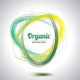 Círculo orgânico abstrato Fotos de Stock