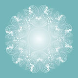 Círculo ornament Fotografía de archivo