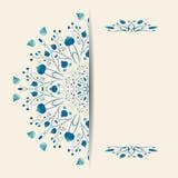 Círculo ornament Imagen de archivo libre de regalías