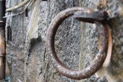 Círculo oxidado Imagens de Stock