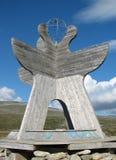Círculo Polar Ártico en Noruega Foto de archivo libre de regalías