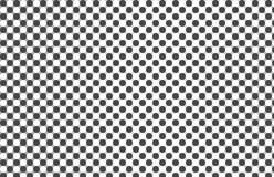 Círculo preto e branco abstrato Foto de Stock Royalty Free