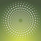 Círculo punteado vector Fotografía de archivo libre de regalías