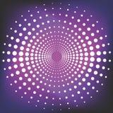 Círculo punteado vector Foto de archivo