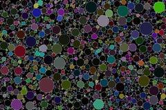 Círculo que embala imagen de fondo abstracta ilustración del vector