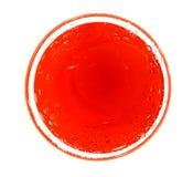 Círculo rojo Fotografía de archivo
