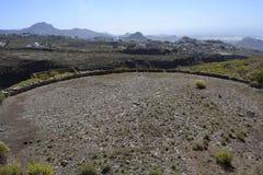 Círculo Tenerife de la era Fotografía de archivo libre de regalías
