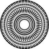 Círculo tribal del vector Fotos de archivo