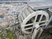 Círculo velho do watermill, Lituânia Imagens de Stock