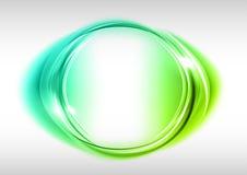 Círculo verde Foto de archivo libre de regalías