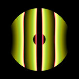 Círculo verde Imágenes de archivo libres de regalías