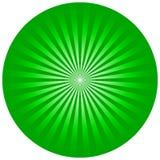 Círculo verde Fotografia de Stock Royalty Free