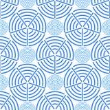 Círculo y Ring Pattern inconsútiles Imagen de archivo libre de regalías