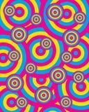 Círculos 1 del vector Imagen de archivo libre de regalías