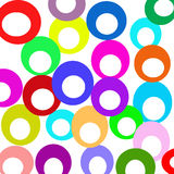 círculos ilustração stock