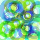 Círculos abstractos. Fotografía de archivo libre de regalías