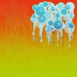 Círculos abstractos Imagen de archivo