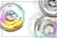 Círculos abstractos Foto de archivo