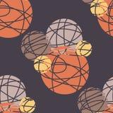 Círculos abstractos Imágenes de archivo libres de regalías