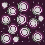 Círculos abstractos Fotografía de archivo